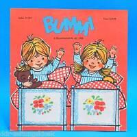 DDR Bummi 22/1970 Kinderzeitschrift 2. Novemberheft  Geburtstag Bastelbogen