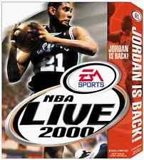 EA Sports NBA Live 2000 Basketball Game for Windows PC CD-ROM (1999)