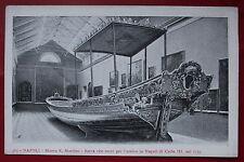 Cartolina antica NAPOLI NAPOLI Barca che servita per il bell'arrivo di Carlo III