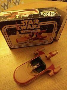 STAR WARS LAND SPEEDER PALITOY 1ST VERSION VINTAGE KENNER WITH BOX 1977