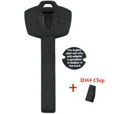 New Emergency Wallet Chip Car Key for BMW Valet Plastic Transponder Immobilizer