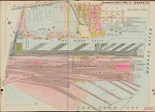 1908 JERSEY CITY, HUDSON COUNTY NEW JERSEY COMMUNIPAW FERRY, COPY PLAT ATLAS MAP