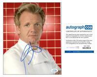 """Gordon Ramsay """"Hell's Kitchen"""" AUTOGRAPH Signed 8x10 Photo F ACOA"""