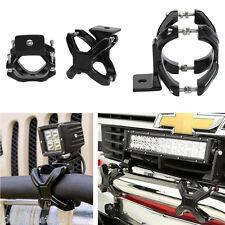 "2 x 2""-3"" Adjustable Car Bumper Bull Bar X-Clamp LED Lights Bracket Mount Holder"