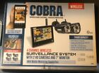 Cobra 4 Channel Wireless Security System with 2 Cameras and 7