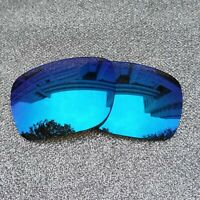 Polarized Replacement Lenses For-Oakley Big Taco Frame Ice Blue