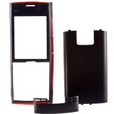 Oberschale für Handy Nokia X2-00 X2 Akkudeckel Schale Glass schwarz
