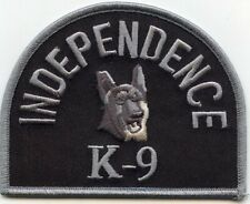 INDEPENDENCE MISSOURI MO K-9 POLICE PATCH