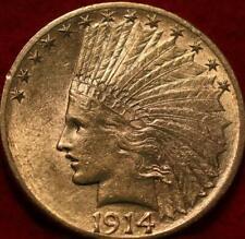 New listing 1914-D Denver Mint $10 Gold Coin
