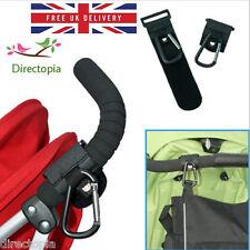2 X Universale Passeggino Carrozzina Baby Passeggino Passeggino Shopping Bag Clip Gancio SL