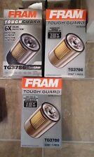 LOT OF 3 FRAM TG3786 Tough Guard Oil Filter New