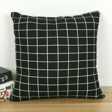 "18""x18"" Geometric Linen Cushion Cover Sofa Throw Waist Pillow Case Bed Decor"