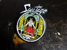 Savatage Metal Badge Pin Jacke Kutte Heavy Metal Metal Church