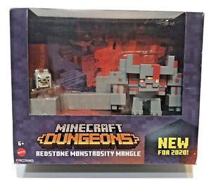 Minecraft Dungeons Redstone Monstrosity Mangle Mojang 2020 Mattel New