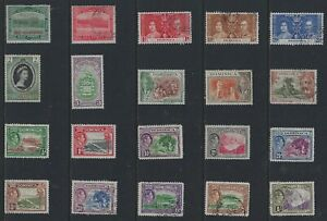 H 213 Dominica / A Small Collection Early & Modern Umm Lhm & Used
