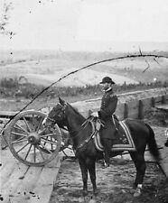 General William T. Sherman on horseback Atlanta Georgia 8x10 US Civil War Photo