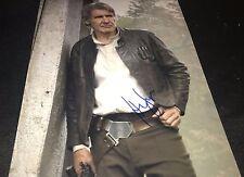 Harrison Ford Star Wars Force Awakens Hans Solo Hand Signed 11x14 Photo W/COA