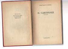 il cardinale - henry morton robinson   - senza sovracopertina - agdod