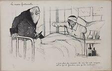 Lithographie signée, J. G. Domergue, Guerre 1914-1918, WW1, Lithography