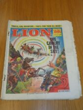 LION 2ND OCTOBER 1965 BRITISH WEEKLY COMIC FLEETWAY^