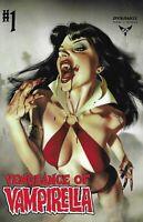 Vengeance Of Vampirella Comic 1 Cover A Middleton First Print 2019 Sniegoski