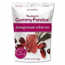 Bissingers Gourmet Gummy Pandas - Pomegranate White Tea (3.5 ounce)