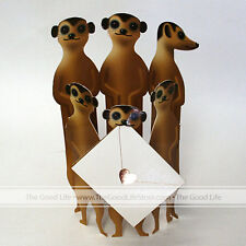 """3D Special Delivery Greeting Card - """"Meerkats"""" - #SD-038"""