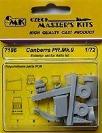CMK 1/72 EE Canberra PR. Mk. 9 Exterior Set for Airfix # 7186