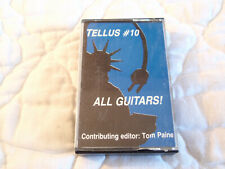 TELLUS AUDIO CASSETTE MAGAZINE #10 ALL GUITARS 1985 LYDIA LUNCH BUTTHOLE SURFERS