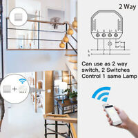 WiFi Light LED Dimmer Switch Smart Life/Tuya APP Remote Control Works with Alexa