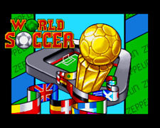 Amiga Football Game - World Soccer - By Zeppelin Games + Instructions. Working👍