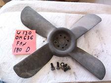 Mercedes Benz Ponton Engine Radiator Fan cooling OM636 aluminum M181 Lüfter