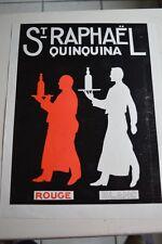 Ancienne publicité de presse - ST RAPHAEL QUINQUINA / DUO MODERNE EDACOTO AURORA