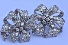 Diamant Platine Boucles D'Oreilles