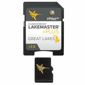Humminbird Lake Master +Plus Great Lakes ~ New