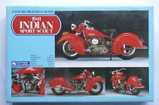 GUNZE High-Tech model 1/12 Indian Sport Scout 1941 multi-material sealed kit