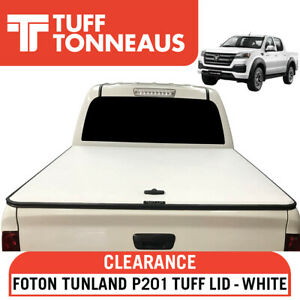 White Tuff Lid Ute Hard Cover For Foton Tunland P201 2014 to Current - LAST 1!