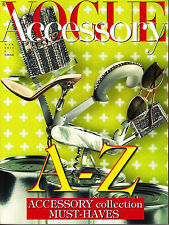 VOGUE ACCESSORY Italia #7 March 2013 A-Z ACCESSORY Collection MUST-HAVES @New@