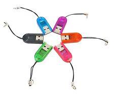 LETTORE MICRO SD USB TF card reader memoria scheda Flash chiavetta pen drive *
