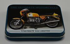 Superb Collectable BMW R90S Motorcycle Keepsake/Tobacco Tin. Garage/Gift NEW