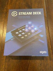 Elgato Stream Deck Live Content Creation Controller - Black, 15 Keys