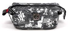 Disney Dooney & Bourke Mickey Minnie Negative Comic Strip Cosmetic Pouch Bag #13