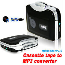 More details for ezcap230 cassette tape to mp3 converter portable capture audio music player uk