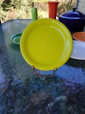 SALAD bistro PLATE lemongrass NEW HOMER LAUGHLIN FIESTA 7 1/4""