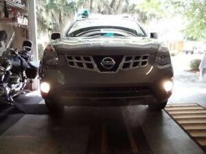 Xenon Halogen White Fog Lights Driving Lamps for 2014-2015 Nissan Rogue Select