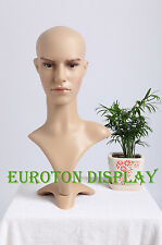 Male Mannequin deko-kopf Wig Head Bald Man Head MD-2 Decor