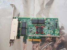 QUAD PORT GBE GE Gigabit Ethernet PCI-E 2.0 x4 IBM 00E1681 Broadcom BCM95719