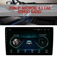 "9"" 2DIN Android 8.1 Quad-core RAM 2GB ROM 32GB Car Stereo Radio GPS Wifi 3G4G BT"