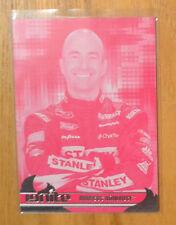 Aaacos Ambrose 2013 Press Pass Ignite Magenta Pink Proof Parallel