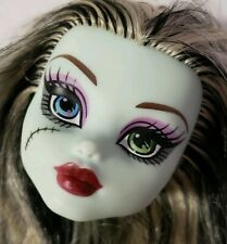 MONSTER HIGH DOLL 1ST WAVE 1 FRANKIE STEIN HEAD ONLY FOR REPLACEMENT OR OOAK